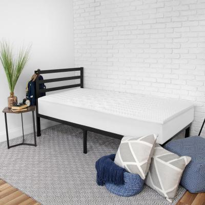 Back to Campus 6-Piece Twin Bedding Bundle with Mattress Topper, Memory Foam Pillow, Tablet Wedge and Mattress Protector