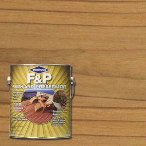 Exceptional F And P Natural Exterior Wood Stain Finish And Preservative (Case Of