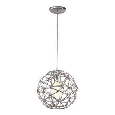 Space 1-Light Polished Chrome Pendant