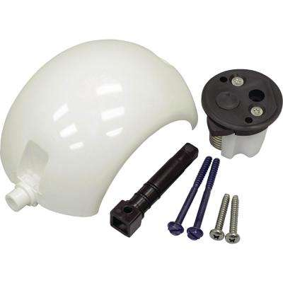 Ball/Cartridge/Shaft Kit For SeaLand, Traveler, Vacu-Flush Gravity-Discharge Toilet with All-Plastic Pedal in White