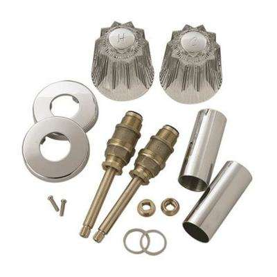 Tub and Shower Rebuild Kit for Price Pfister Windsor Faucets in Acrylic