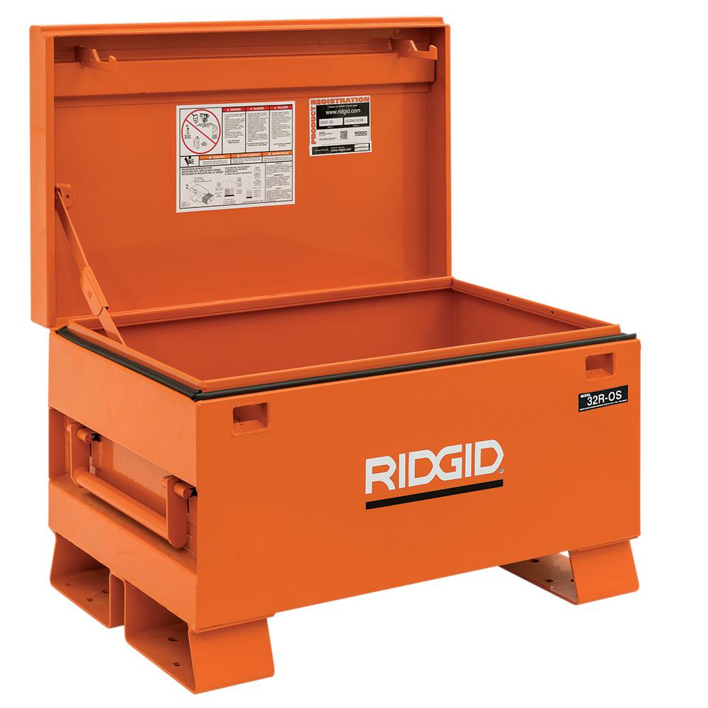 RIDGID 32 in. x 19 in. Portable Storage Chest-32R-OS - The ...