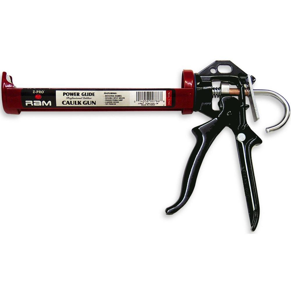 PREMIER 9 inch Pro Power Glide Caulk Gun (12-Pack) by PREMIER