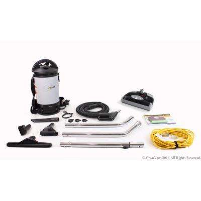 New Sierra Backpack Commercial Vacuum with 1-1/2 in. Tools and Electric Power Head Kit