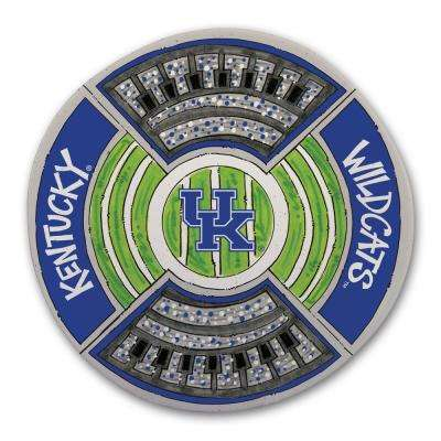 Kentucky Football Stadium Melamine Platter