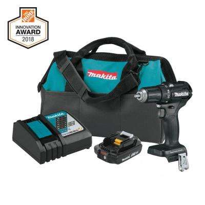18-Volt 2.0Ah LXT Lithium-Ion Sub-Compact Brushless Cordless 1/2 in. Driver-Drill Kit
