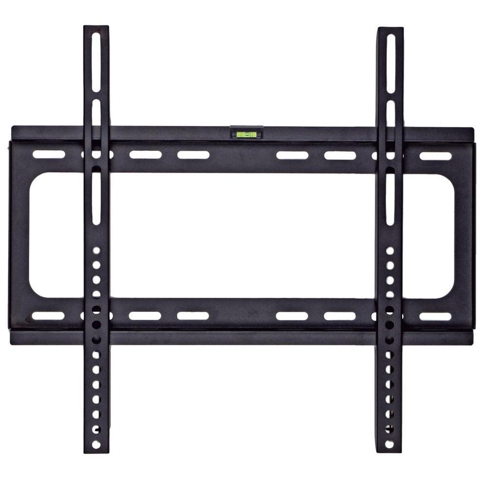 tv wall mount for 24 50 in flat panel screen low profile hardware steel black 47323150159 ebay. Black Bedroom Furniture Sets. Home Design Ideas