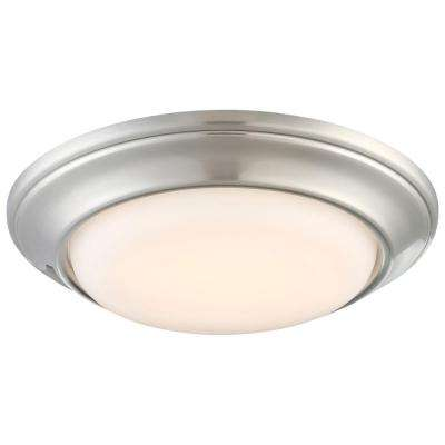 6 in. Recessed Can Brushed Nickel LED Trim