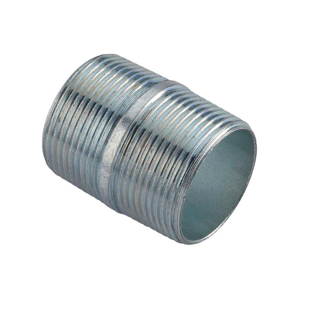 4 Inch Long 2 Inch Galvanized Rigid Conduit Pipe Nipple-2 per case