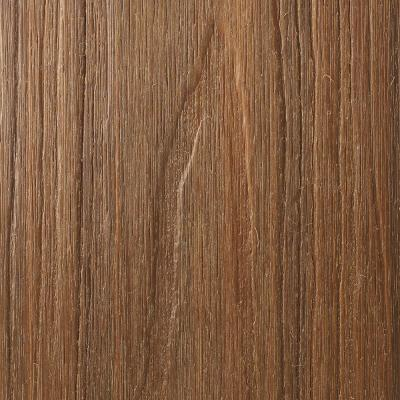 UltraShield Naturale Voyager Series 1 in. x 6 in. x 1 ft. Peruvian Teak Hollow Composite Decking Board Sample