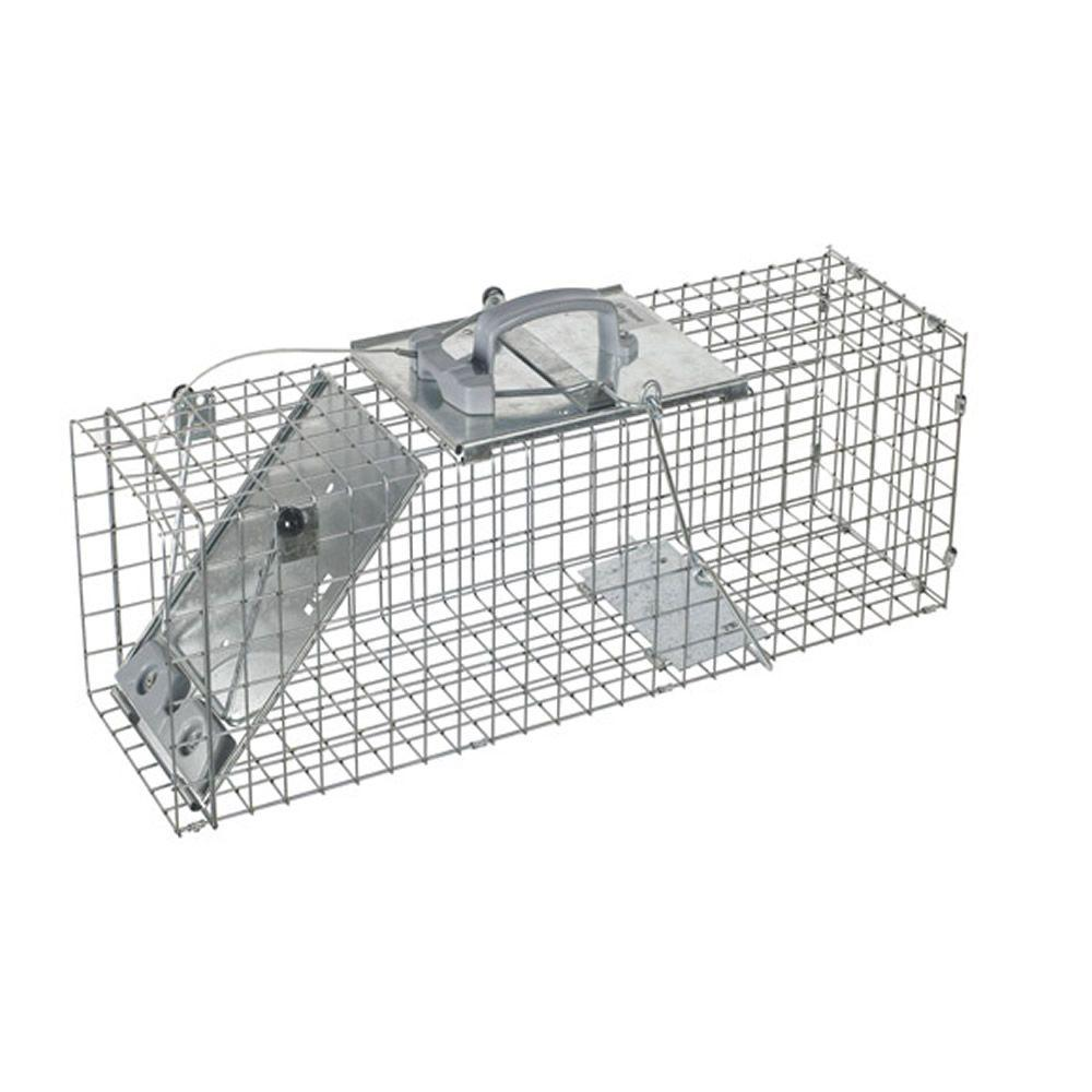 Havahart Large Collapsible Easy Set Live Animal Cage Trap