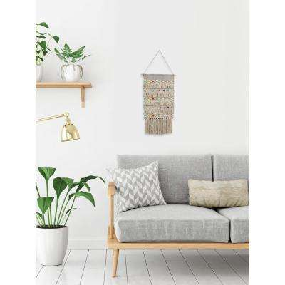 """Colorful Macrame"" by Marmont Hill Wall Tapestry"