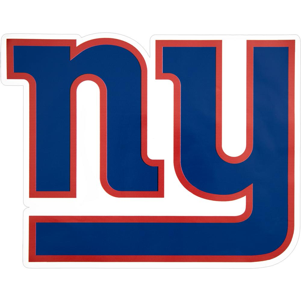 Applied Icon NFL New York Giants Outdoor Logo Graphic- Large ...