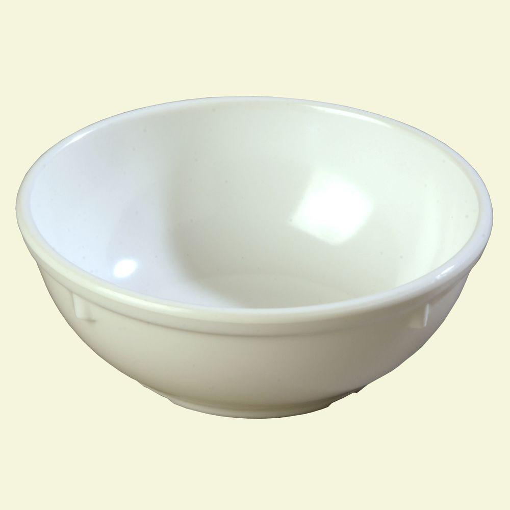 16 oz. Melamine Nappy Bowl in White (Case of 48)