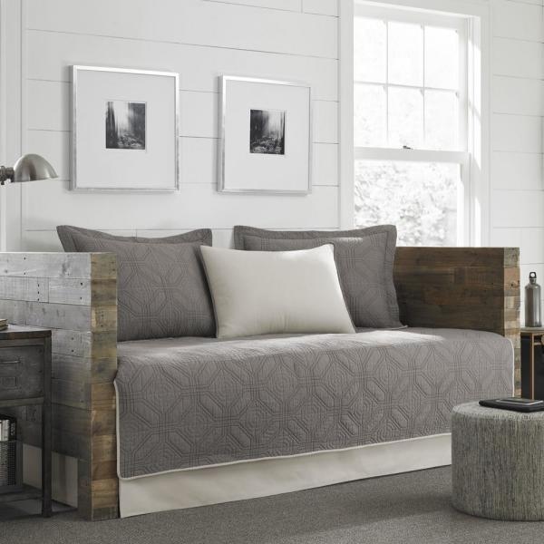 Eddie Bauer Axis 5 Piece Grey Twin Reversible Daybed