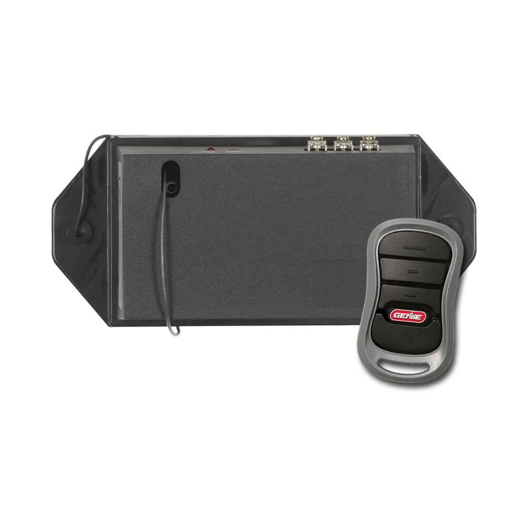 Compatible with Most Opener Brands Eliminates Frequency Interference and Upgrades Garage Door Openers Model GIRUD-1T Genie Universal Dual Frequency Conversion Kit