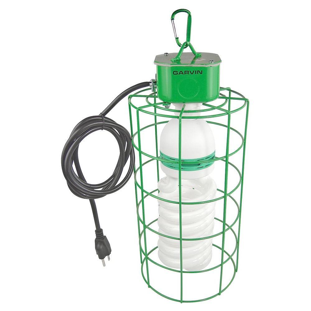 Work Light Bulbs: Garvin 105-Watt Temporary Work-Light With Super Bright