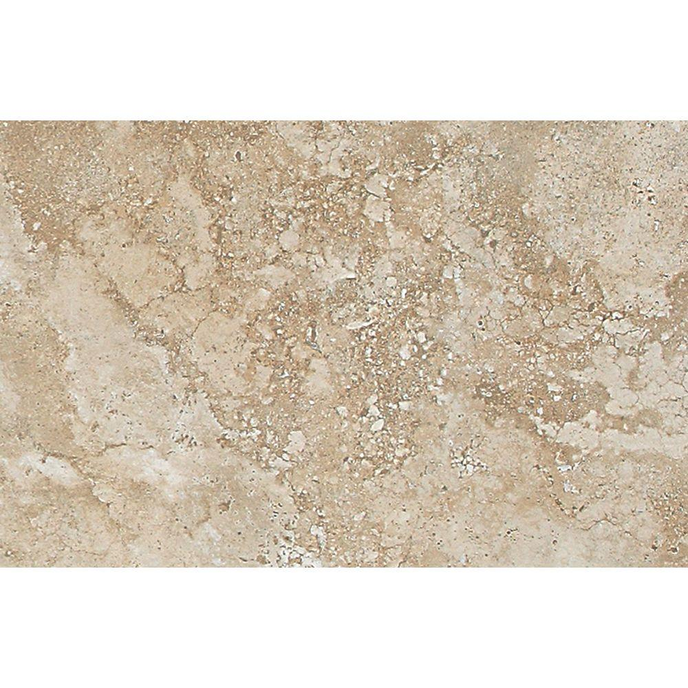 Daltile Del Monoco Carmina Beige 13 in. x 20 in. Glazed Porcelain Floor and Wall Tile (12.9 sq. ft. / case)