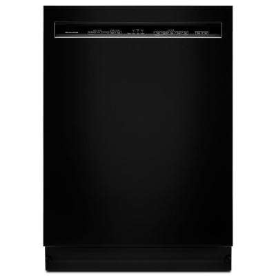 Front Control Built-in Tall Tub Dishwasher in Black with ProWash