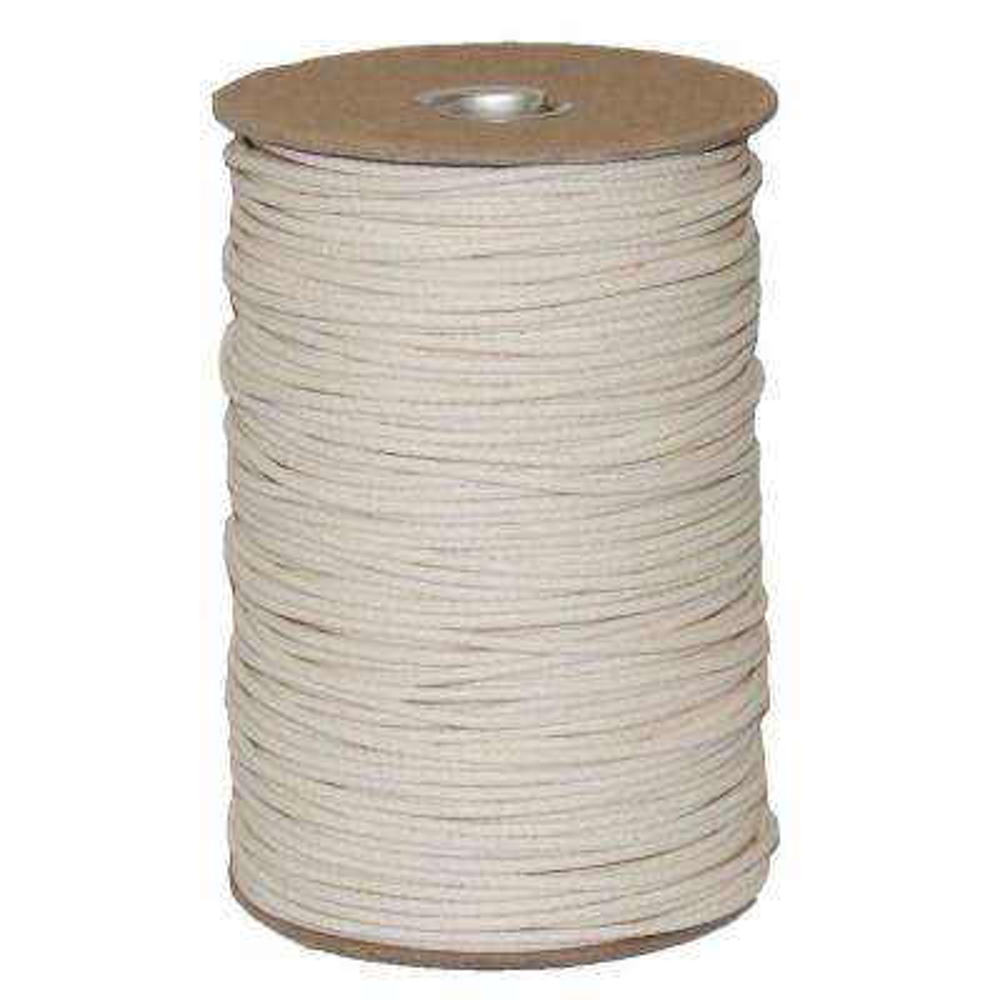 #4 1/8 in. Duck Cotton Shade Cord 1000 Yard Spool
