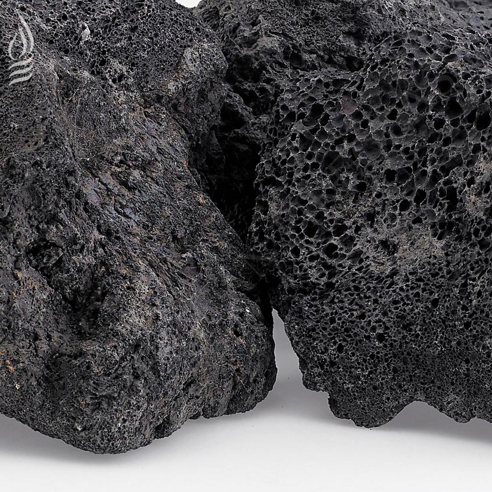XXL Black Lava Rock (4 in. - 6 in.) 20 lbs.