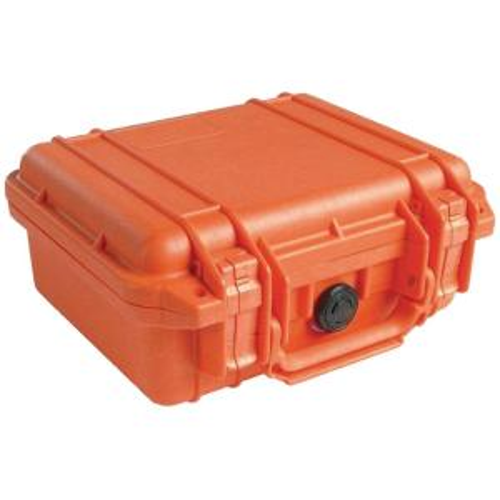 Pelican 10.1 inch Protector Case with Pick N Pluck Foam in Orange by Pelican