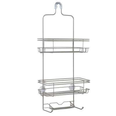 Large Over The Shower Caddy In Satin Nickel