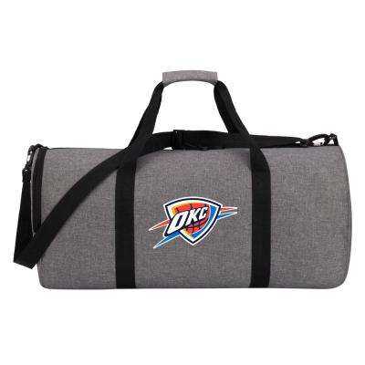 Thunder Wingman 10 in. Heathered Gray Duffle Bag