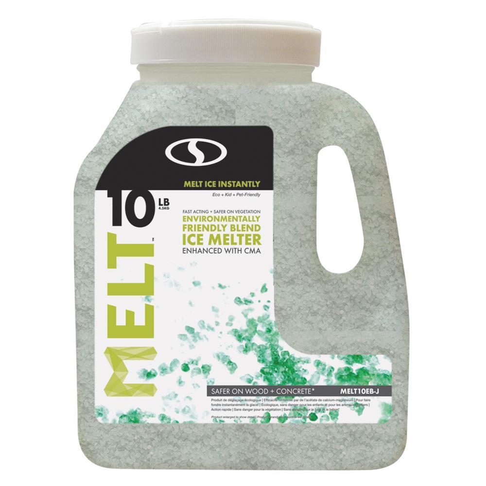 Melt 10 lb. Jug Premium Environmentally Friendly Blend Ice Melter with CMA