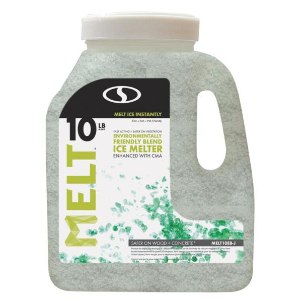 Melt 10 lb. Jug Premium Environmentally Friendly Blend Ice Melter with CMA