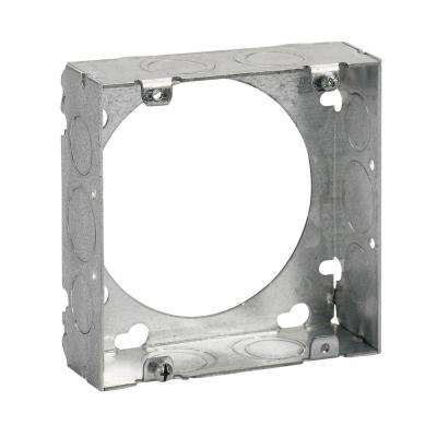 2-Gang 4-11/16 in. Square Metal Electrical Box Extension Ring (Case of 20)