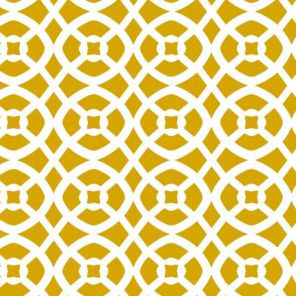 Stencil Ease Arabesque Wall Painting Stencil - 19.5 in. x 19.5 in ...