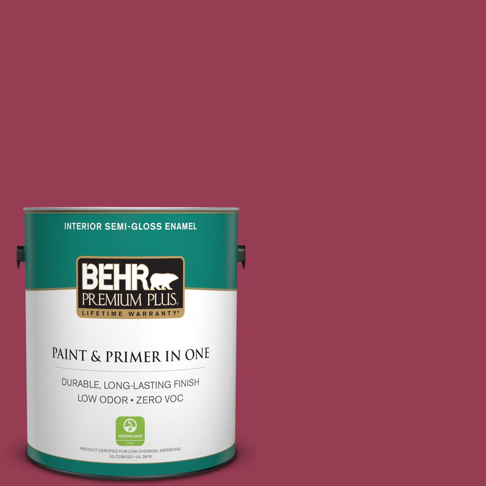 Home Decorators Collection 1-gal. #HDC-CL-04 French Rose Zero VOC Semi-Gloss
