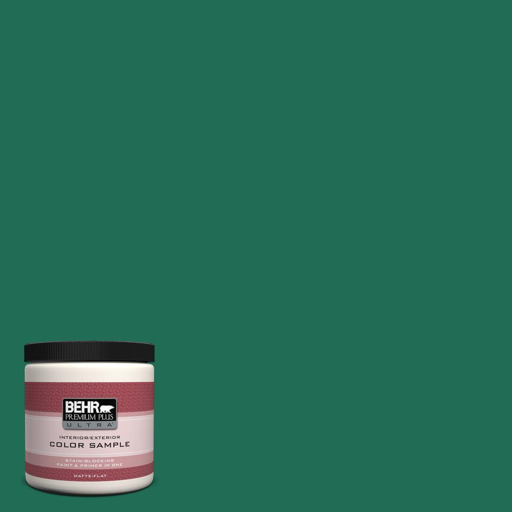 8 oz. #P430-7 Sparkling Emerald Interior/Exterior Paint Sample