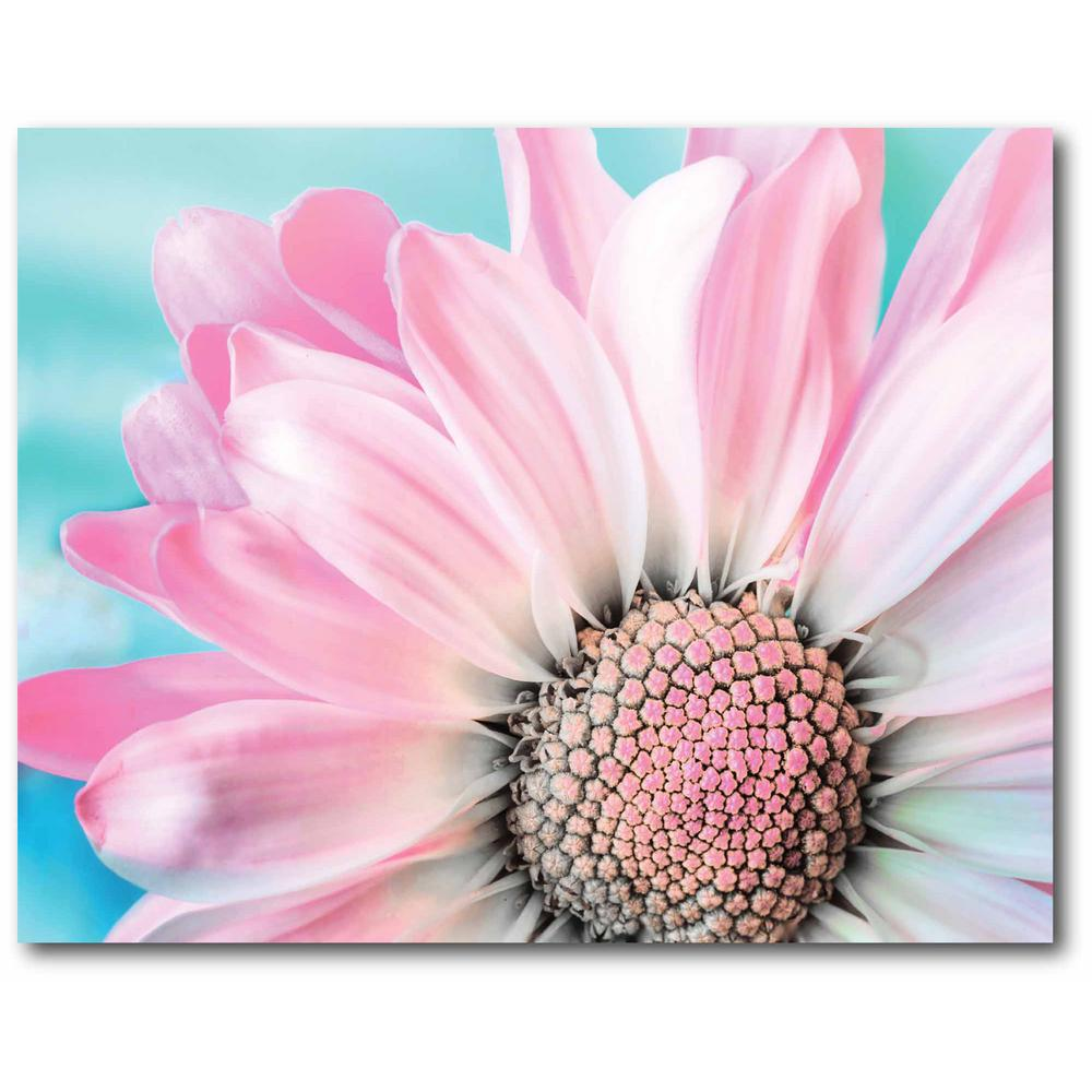 Courtside Market Pink and Blue Gallery-Wrapped Canvas Nature Wall Art 20 in. x 16 in., Multi Color was $70.0 now $38.93 (44.0% off)