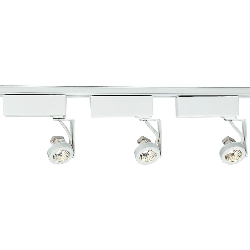 Design Modern Track Lighting modern track lighting ceiling fans the home depot alpha trak collection 3 light white kit