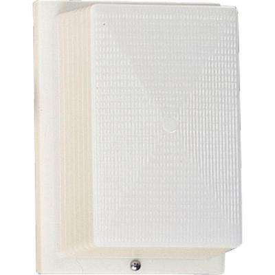 Hard-Nox Collection Outdoor White Wall Lantern