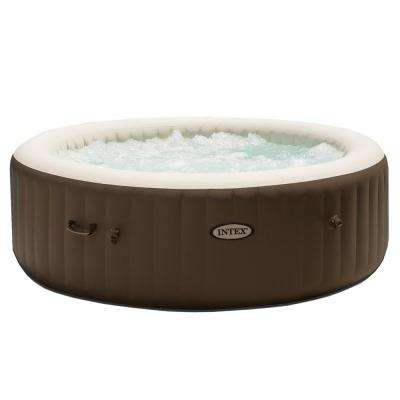Intex PureSpa Bubble Massage 6-Person Inflatable Hot Tub Spa with Soothing Jets