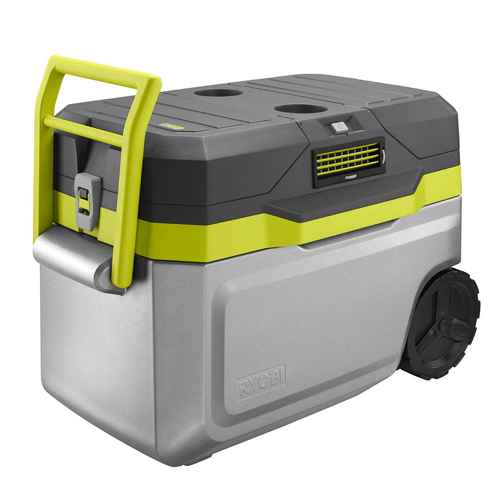 Ryobi 18 Volt One 50 Qt Cooling Cooler P3370 The Home