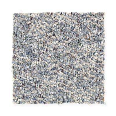 Carpet Sample - Kent - Color Brookside Berber 8 in. x 8 in.