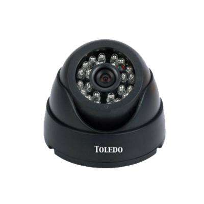 Wired HD Infrared Outdoor Dome Security Camera