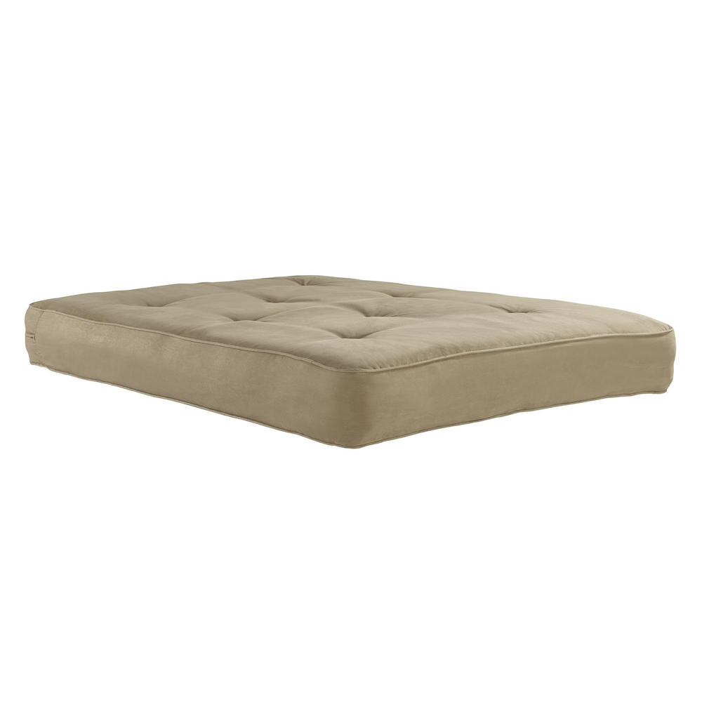 Independently Encased Coil Futon Mattress With Certipur Us Certified Foam In Tan