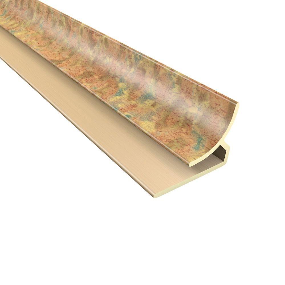 Fasade 4 ft. Cracked Copper Inside Corner Trim