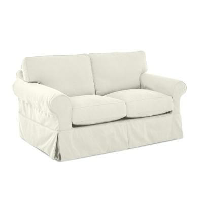 Brilliant White Linen Sofas Loveseats Living Room Furniture Gmtry Best Dining Table And Chair Ideas Images Gmtryco
