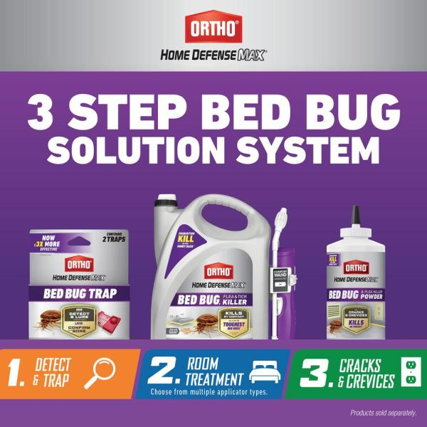 Ortho Home Defense Max Bed Bug Trap 2 Pack 046570505 The Home Depot