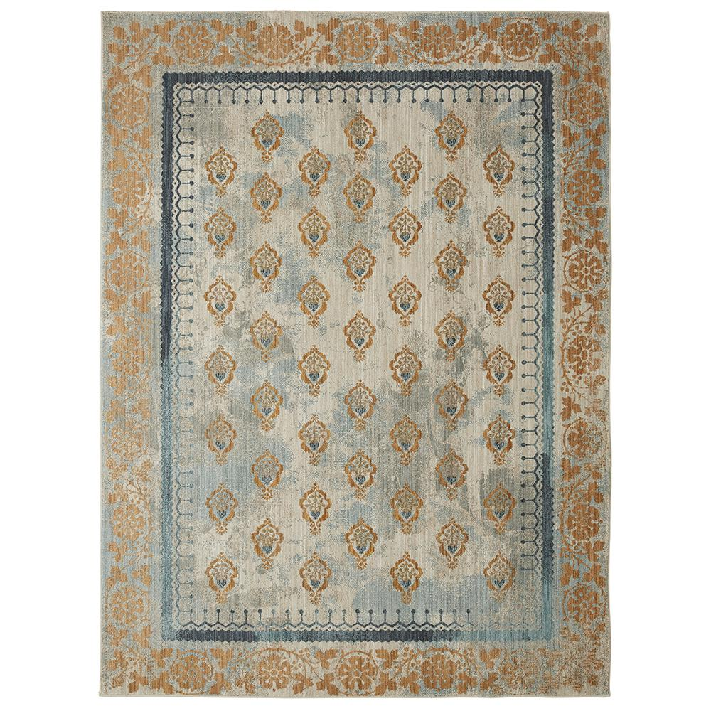 Mohawk Home Floret Gold by Patina Vie 5 ft. x 8 ft. Area Rug was $162.09 now $97.25 (40.0% off)