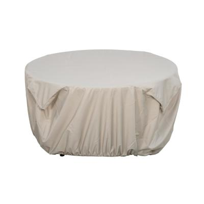 Royal Large Beige Firepit Table Cover