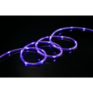Meilo 16 ft purple all occasion indoor outdoor led 14 in mini meilo 16 ft purple all occasion indoor outdoor led 14 in mini rope light 360 directional shine decoration ml11 mrl16 prp the home depot aloadofball Gallery