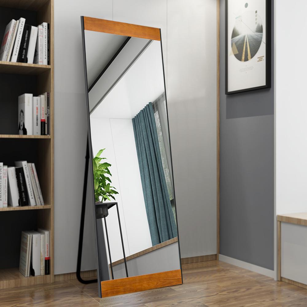 Modern Solid Wood Full Length/Floor Mirror Leaning Bedroom/Living Room