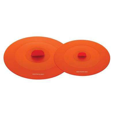 Tools and Gadgets Silicone Orange Lids (Set of 2)